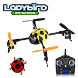 wltoys mini quad - QR series Ladybird - WLToys V939 4CH 2.4GHz Micro Quad 4-Axis Mini UFO Style RC Helicopter Yellow - Multirotor Quadcopter - RTF Ready to Fly with Transmitter Tx Included, color may vary.