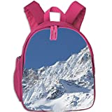 Best Coofit Books Kids - Backpack Printed Laptop SAAS Fee Snow Mountains School Review