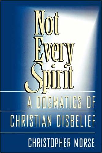 Not Every Spirit: Dogmatics of Christian Disbelief