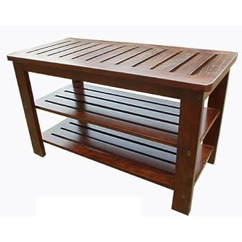 d art collection teak outdoor shoe bench storage benches garden outdoor. Black Bedroom Furniture Sets. Home Design Ideas