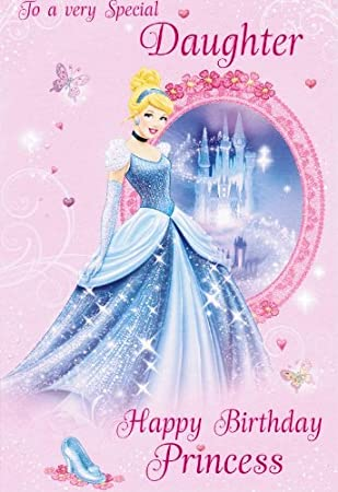 Disney Princess Birthday Card