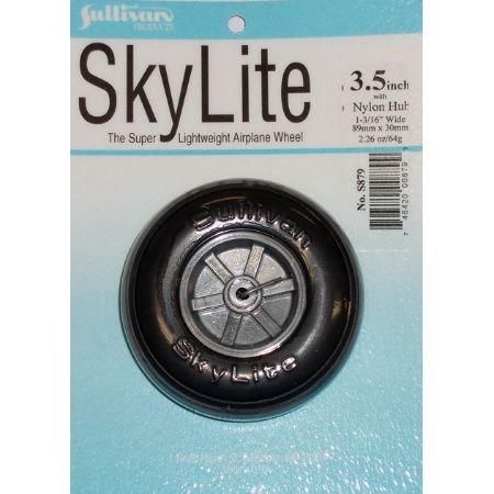 Sullivan Products Skylite Wheel w/Tread,3-1/2
