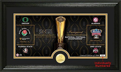 Highland Mint photo7478 K 2015 Am College Fußball Playoff Road to the Championship Foto mint by Highland Mint