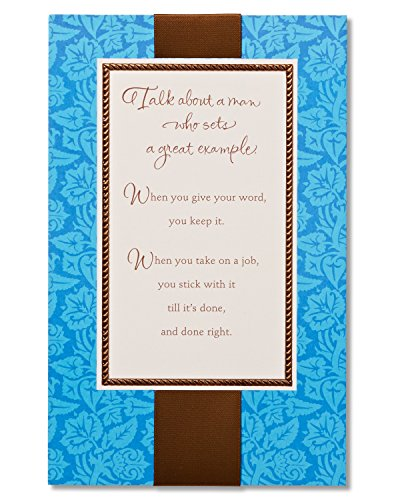 American Greetings Good Man Birthday Card for Him with Foil