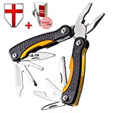 Grand Way Mini Utility Multitool with Knife and Pliers - Best Small Multi Purpose Tool with All in One Tool Set - Everyday Universal Knife for Camping, Survival and Outdoor Activities 2229