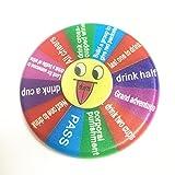 Drinking Game Fidget Spinner Hand Spinner for Party Bar KTV Turntable Game