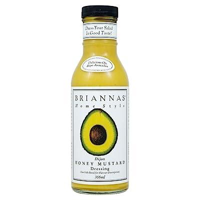 Briannas Home Style Dijon Honey Mustard Dressing (355ml): Grocery & Gourmet Food