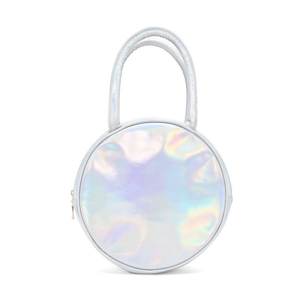 Ban.Do Girls Gotta Eat Holographic Lunch Box, Multicolor by Bando