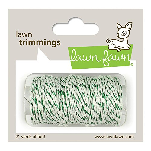 Lawn Fawn - Lawn Trimmings - Hemp Cord - Green Sparkle