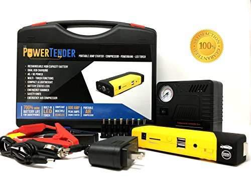 Portable Air Compressor Battery Charger - 4