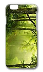 MOKSHOP Adorable forest enchanted Hard Case Protective Shell Cell Phone Cover For Apple Iphone 6 Plus (5.5 Inch) - PC 3D