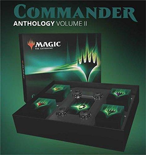 Mtg Magic The Gathering - Magic The Gathering MTG Commander Anthology 2018 Volume II Set: 4 decks