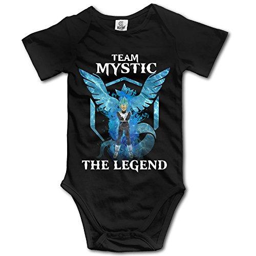 VEGETA TEAM MYSTIC THE LEGEND Baby Girls/Boys Short Sleeve - Location Miranda