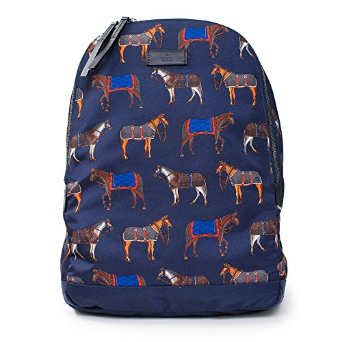 Gucci-Navy-Blue-Bag-horse-print-backpack-ink