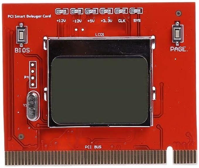 Eatech PC LCD Pantalla LCD Analizador de computadora Placa