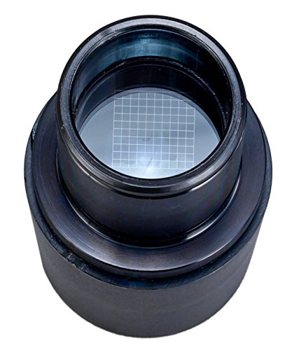 OMAX WF10X/18 Microscope Eyepiece with Counting Grid Reticle 23.2mm by OMAX