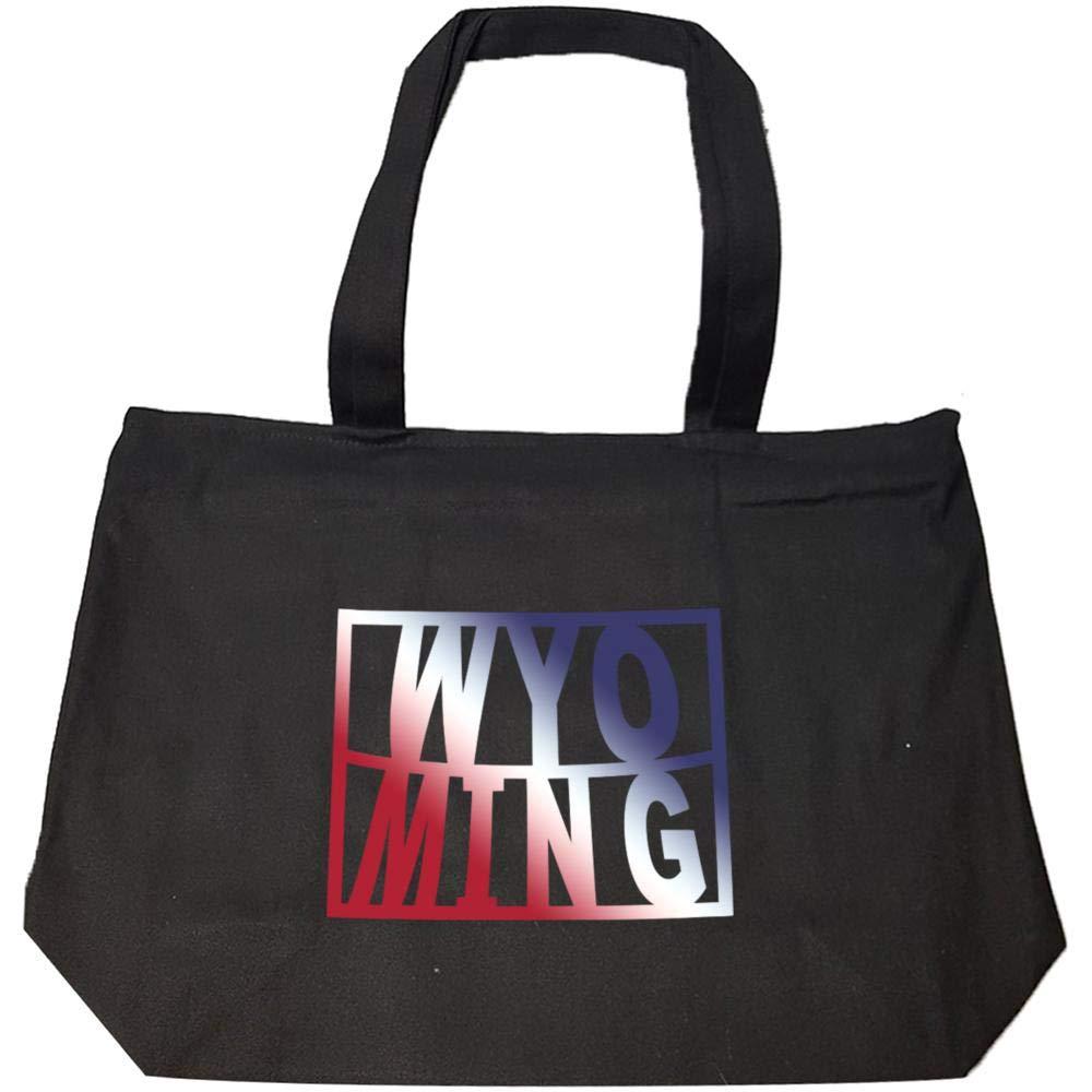 Wyoming USA 4th State Pride - Fashion Zip Tote Bag
