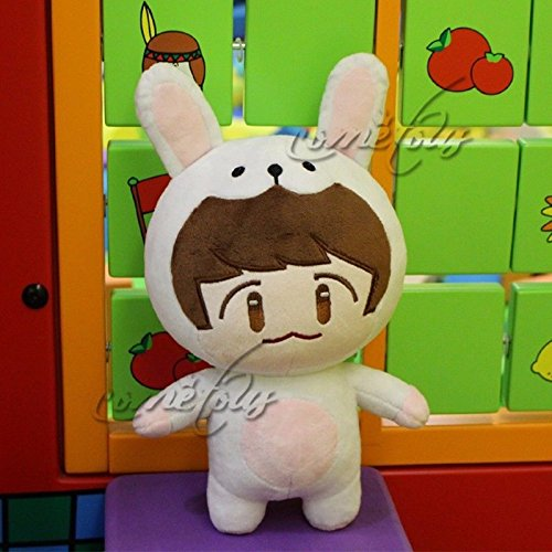 Kpop EXO XOXO Planet#2 Plush Toy Chanyeol Chen Kai Suho Sehun DO BaekHyun Dolls(A)