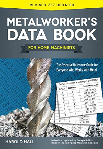 Metalworker's Data Book for Home Machinists: The Essential Reference Guide for Everyone Who Works with Metal (Fox Chapel Publishing) Drill Sizes, Turning Tools, Electrical Components, Threads, & More