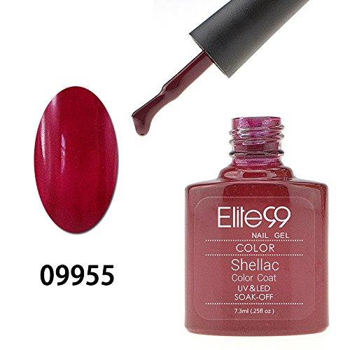 83 opinioni per Elite99 Smalto Semipermanente Gel UV LED Serie Shellac Colore 7.3ml Sangria
