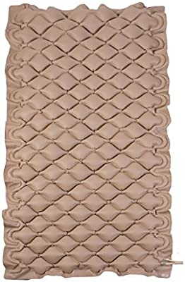 Amazon.com: Alternating Pressure Mattress Pad for Twin Beds - Air Pressure Mattress - Inflatable Bed Pad Helps Relieve Bed Sores, Tan: Health & Personal ...