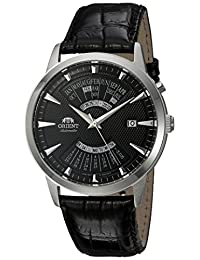 Orient Men's FEU0A004B0 Multi-Calendar Analog Display Japanese Automatic Black Watch