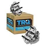 TRQ Rear Wheel Hub & Bearing Pair Set for 05-10 Honda Odyssey