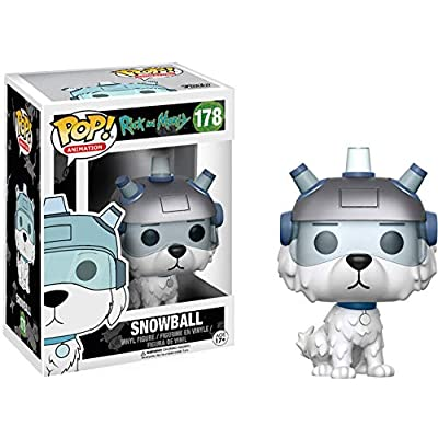 Funko POP Animation Rick and Morty Snowball Action Figure: Funko Pop! Animation:: Toys & Games