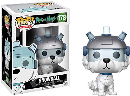 Funko POP Animation Rick and Morty Snowball Action Figure (Rick And Morty Universe In A Box)