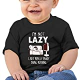 Sfjgbfjs Baby T-Shirt I'm Not Lazy Soft and Cozy Infant T-Shirt