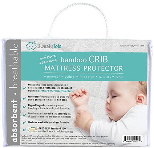 Crib Mattress Protector for Hot or Sweaty Sleepers