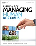 img - for Essentials of Managing Human Resources book / textbook / text book