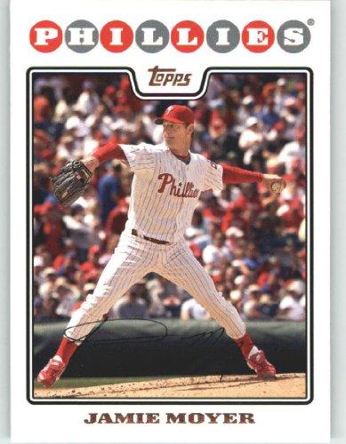 2008 Topps #173 Jamie Moyer Philadelphia Phillies (0) (Baseball Cards)