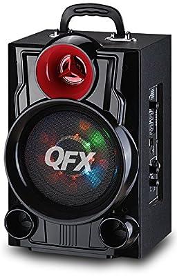 QFX PBX-9080 Battery Powered Portable Bluetooth Speaker