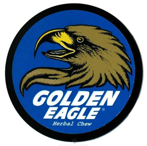 Non-Tobacco Chews Licorice Mint - 1.2 oz,(Golden Eagle Herbal Chew)
