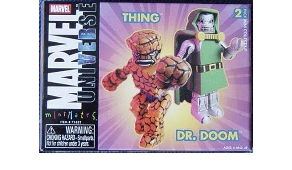 Marvel Minimates - Thing & Dr.Doom 2 pack by Minimates: Amazon.es ...