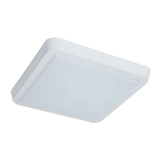 Sulion Discover Plafón LED Técnico, 18 W, PC Blanco: Amazon.es: Iluminación