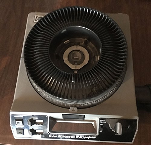 Kodak Ektagraphic III ATS Slide Projector with Built in Slide Viewer by Kodak