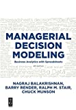 img - for Managerial Decision Modeling book / textbook / text book
