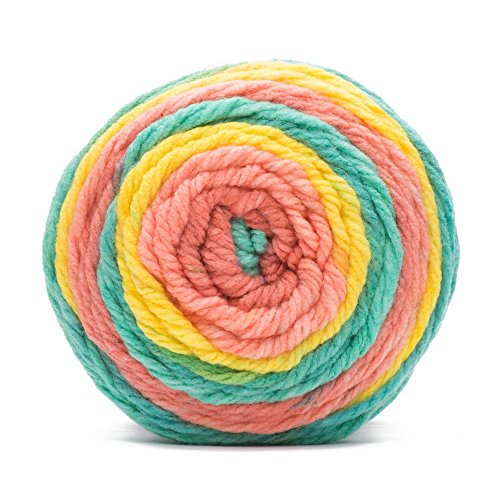 - Caron Chunky Cakes Self Striping Yarn 297 yd/271 m 9.8 oz/280 g (Sherbert Swirl)