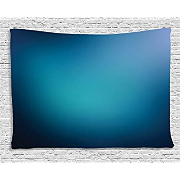 Amazon Com Ambesonne Navy Blue Decor Collection Abstract
