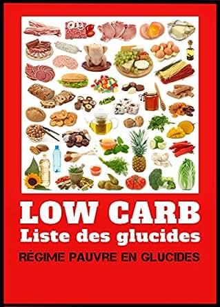 Low carb liste des glucides r gime pauvre en hydrates de carbone french edition ebook - Fruits pauvres en glucides ...