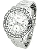 GUESS Women's U0016L1 Dazzling Sport Chronograph Watch