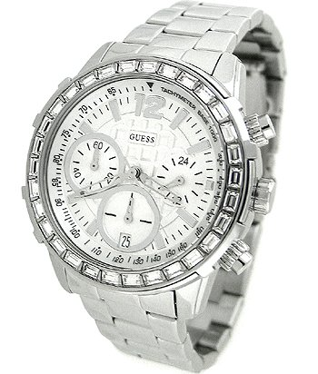 GUESS Women's U0016L1 Dazzling Sport Chronograph Watch by GUESS