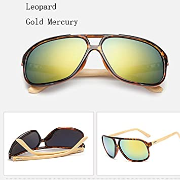 43a9869247f Anizun(TM)Vintage Mens Wood Sunglasses Brand Designer Bamboo Sun Glasses  For Men Oversized Mirrored Sunglass Goggles Sport Shades lunette   Amazon.co.uk  ...