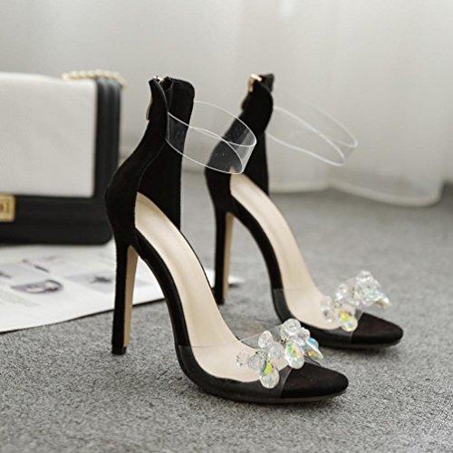 Schuhe Weave Frauen Sandalen NEEDRA Mode Wedges amp;H Middle S Sommer Sandalen Böhmen Heel A8 q0zwBx