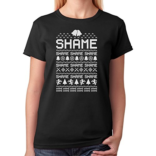 Cersei Walk of SHAME - Funny Ugly Christmas T-Shirt