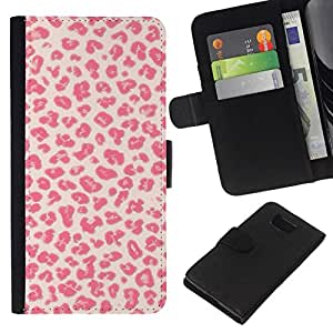 All Phone Most Case / Oferta Especial Cáscara Funda de cuero Monedero Cubierta de proteccion Caso / Wallet Case for Samsung ALPHA G850 // Pattern Kisses Love Fur Pink