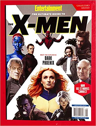 Entertainment Weekly Collectors 2019 +++FREE GIFT+++The Ultimate Guide To The Xmen