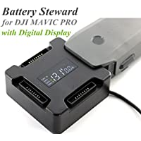 XSD MODEL 4in1 Hardshell Battery Steward Parallel Charging Board Accessories Charger Adapter with Digital Display for DJI Mavic Pro Parts